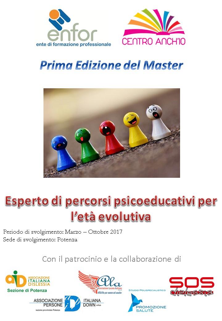 """Master in """"Esperto in Percorsi psicoeducativi per l'età evolutiva"""""""